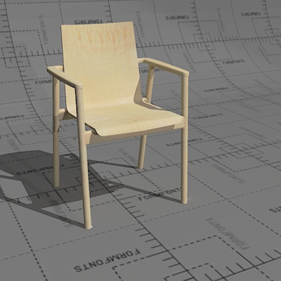 Plus series chairs, frame solid birch or oak, seat....