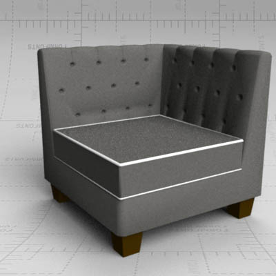 Super Tufted Modular Sofa 3D Model Formfonts 3D Models Textures Download Free Architecture Designs Grimeyleaguecom