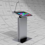 Digital lectern based on Modern Church Digital Pod...