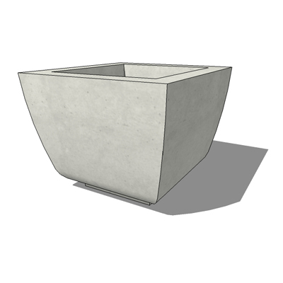 Square SS-15 planter by by Kornegay Design, 27