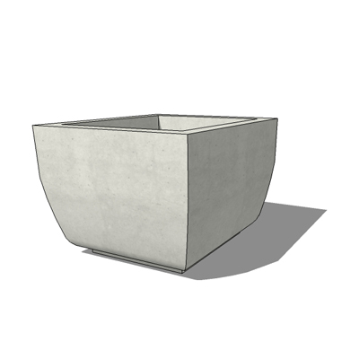 Square SS-15 planter by by Kornegay Design, 36