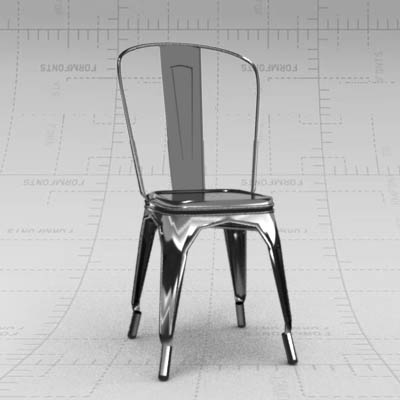 Marais chair 3D ModelMarais chair 3D Model   FormFonts 3D Models   Textures. Marais A Chair. Home Design Ideas