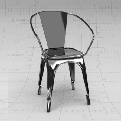 marais chair 3d model formfonts 3d models textures