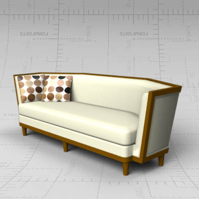 Landau sofa by Michael Berman.