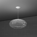 Tropico Ellipse Lamp, Revit Render 
