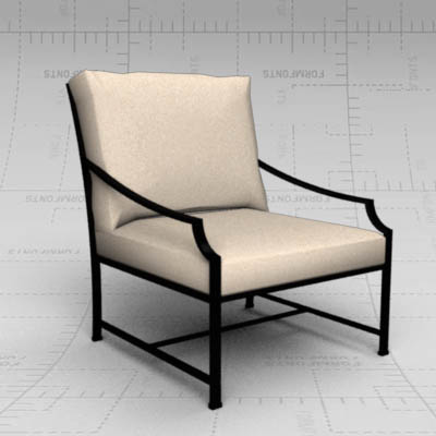 Carmel classic garden chair by Restoration Hardwar....