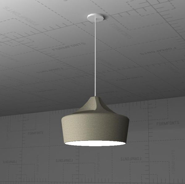 Marset Pleat Pendant Lamp 3D Model