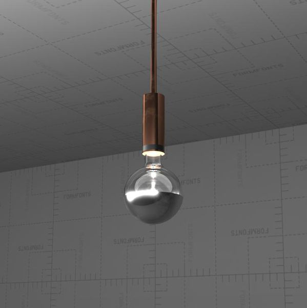 Hanging Ceiling Light 3d Autocad Model: Neidhardt FlexG40 Pendant Lamp 3D Model