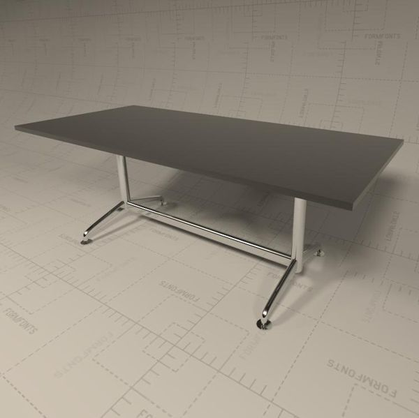 Fina Conference Table 3D Model