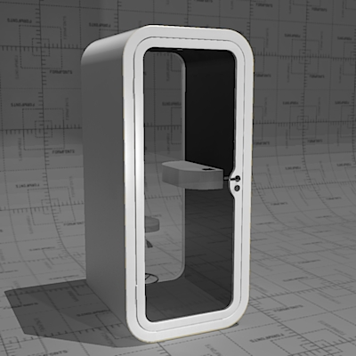 Framery O Phone Booth, Soundproof Privacy In Noisy.