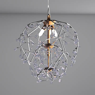 Bella Crystal Round Chandelier by Pottery Barn.