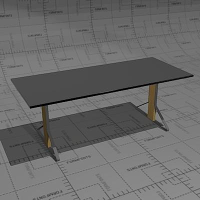 artek reb kaari tables 3d model formfonts 3d models textures. Black Bedroom Furniture Sets. Home Design Ideas