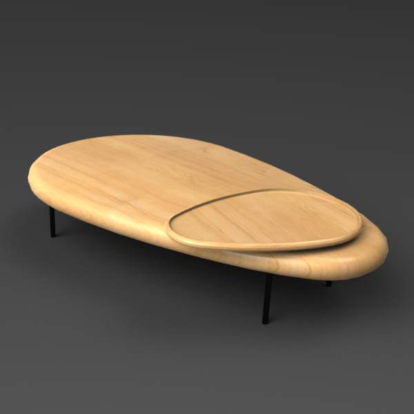 The Lily coffee table by Casamania. 