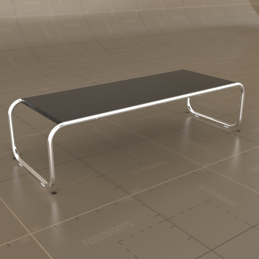 Knoll Laccio Tables 3D Model