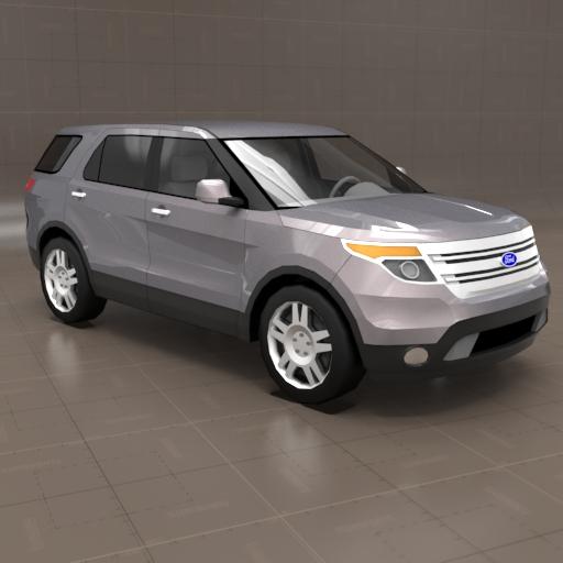Ford Explorer Models >> Ford Explorer 3d Model Formfonts 3d Models Textures