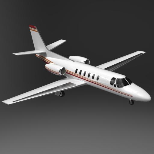Cessna Citation I 3d Model Formfonts 3d Models Textures
