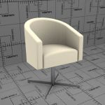 Arena dining chair #524 by Morgan 