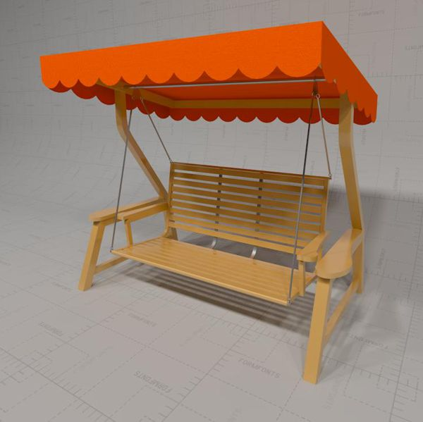 Garden Swing with canopy<br>