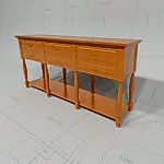 Kravet Turned 6-Drawer 