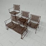 Barcelona Patio Seating in 