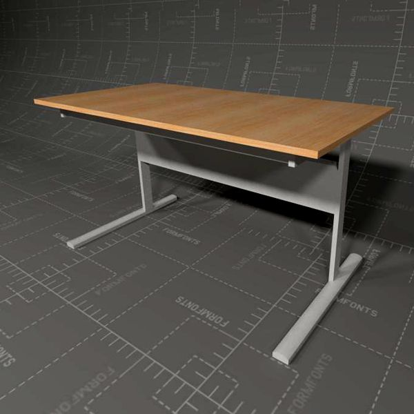 Ikea Fredrik Desk 3d Model Formfonts 3d Models Amp Textures