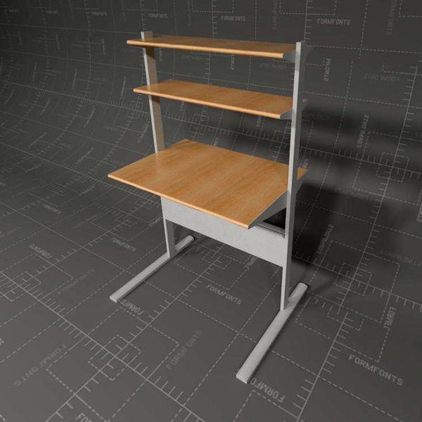 Great IKEA Fredrik Computer Workstations 3D Model