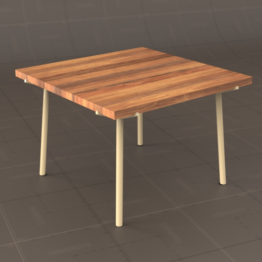 Branch Square Dining Table.