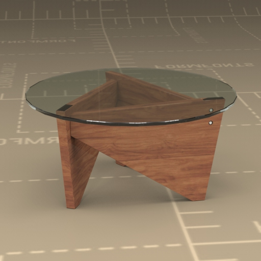 Sail Coffee Table 3d Model Formfonts 3d Models Amp Textures