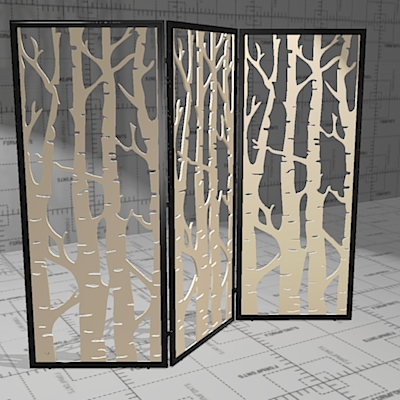 Buzzi Falls Acoustic Panels 3d Model Formfonts 3d Models Amp Textures