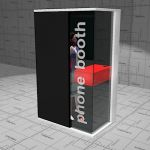 Martela Hush phone booth. 135 x 88 x 220cm. Privat...