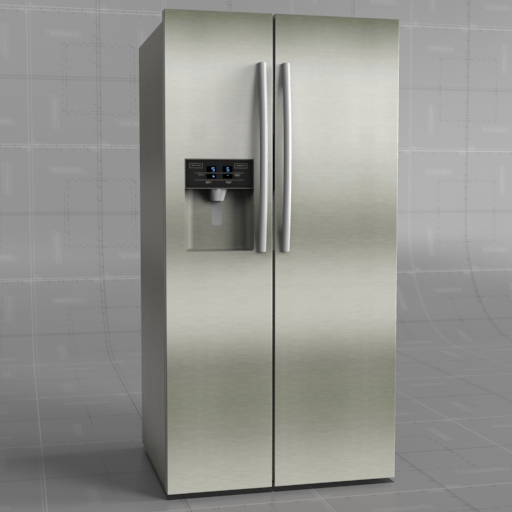 Generic Side by Side Refrigerator.