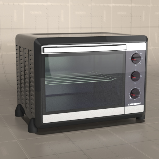 Generic Electric Oven.