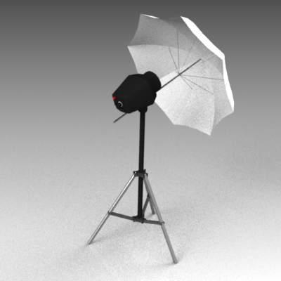 Photo studio 3D Model - FormFonts 3D Models & Textures