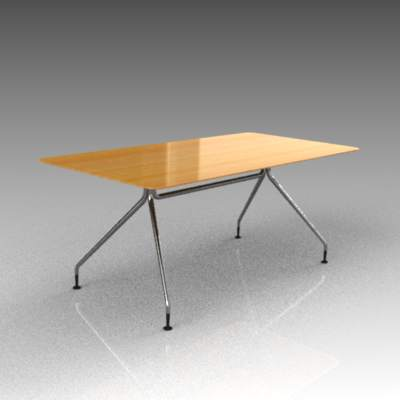 Wilkhahn rectangular conference 