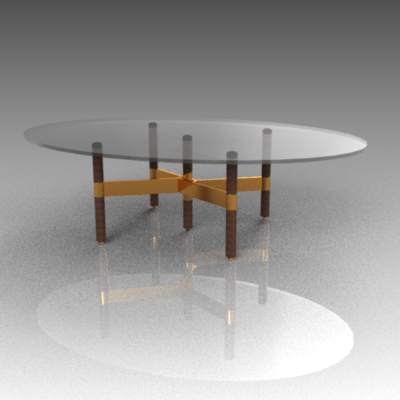 Helix Coffee Table From Design Within Reach. Rou.