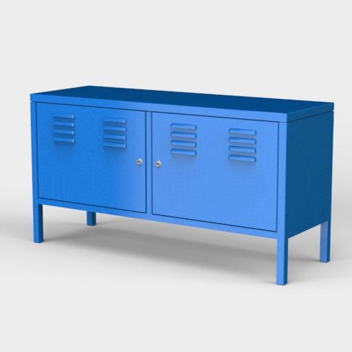 Ikea Ps Cabinet 3D Model - FormFonts 3D Models & Textures