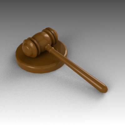 courtroom gavel 3d model formfonts 3d models textures