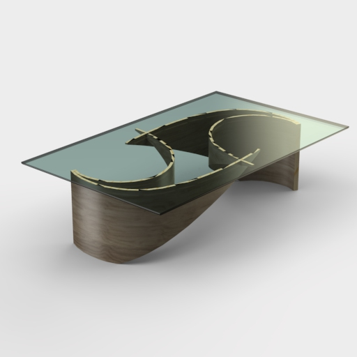 Wave Coffee Table.