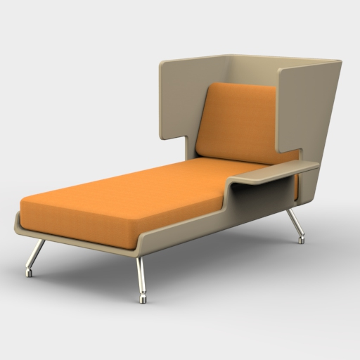 Knoll Architecture Chaise.