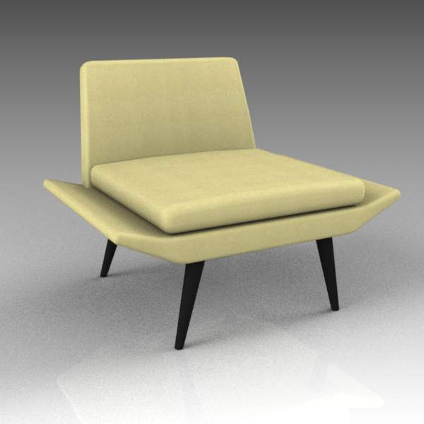 Morgan Miami lounge chair. Plain and 