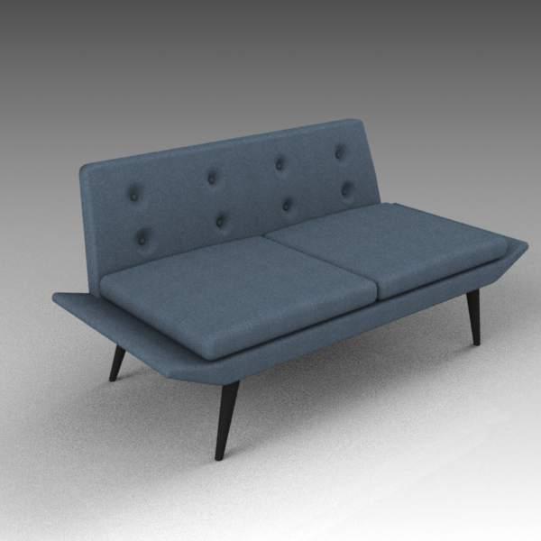 Miami Sofas 3D Model