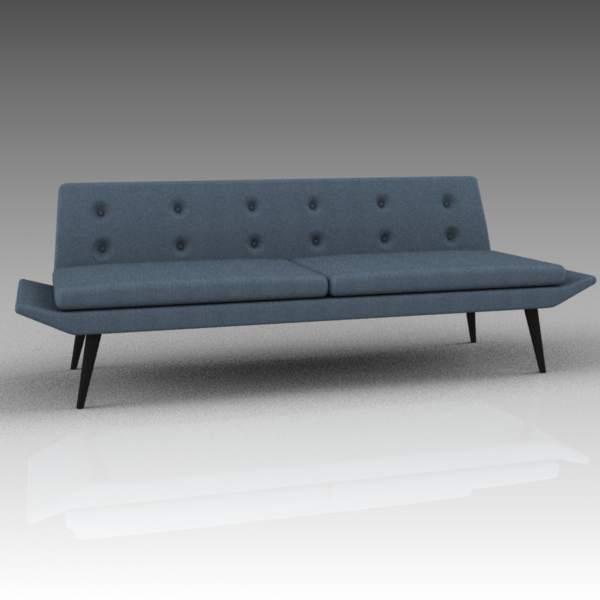 Miami sofas 3D Model - FormFonts 3D Models & Textures