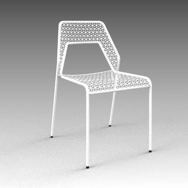 Hot Mesh Chair 3D Model