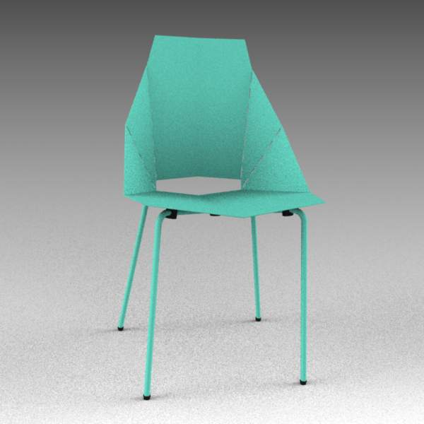 The Real Good Chair and stool by Blu 
