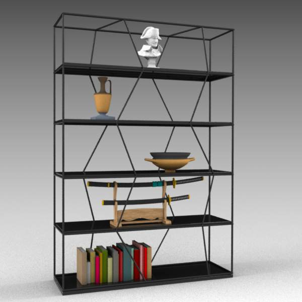 Lexington bookcase by Bontempi 