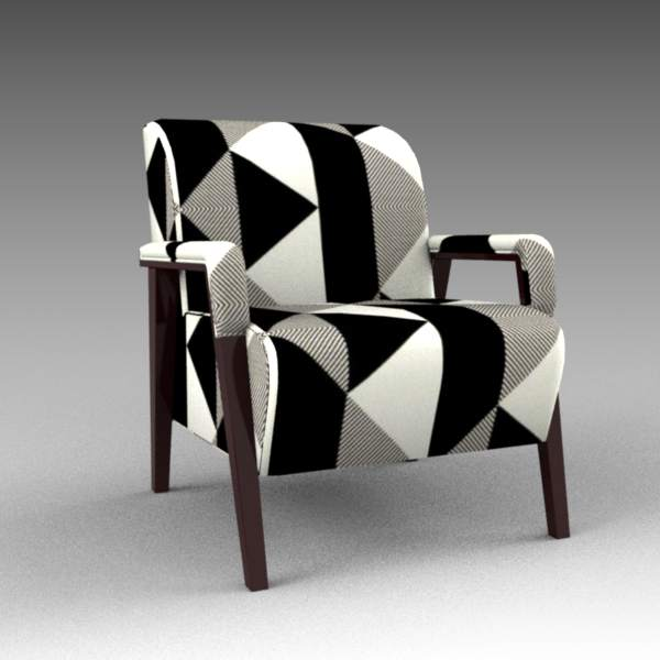 The Carter lounge chair by Tirolo. 