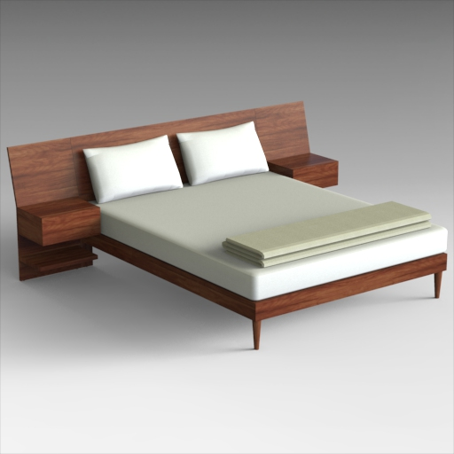 William Platform Bed.