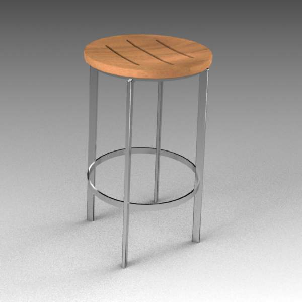 Echo barstool from Link Outdoor. 