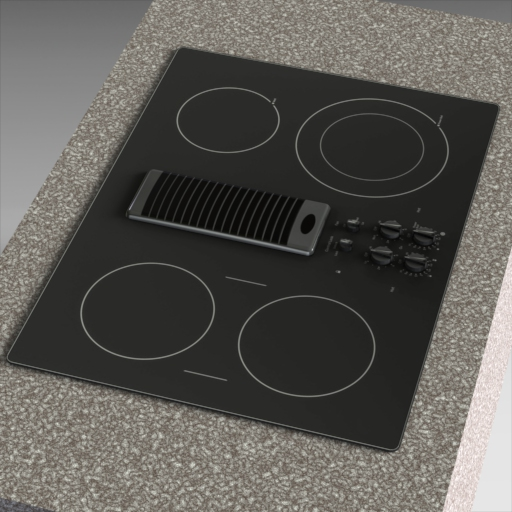 GE Profile Electric Cooktop.