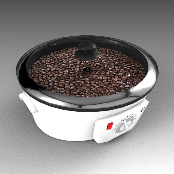 Domestic coffee bean roaster.